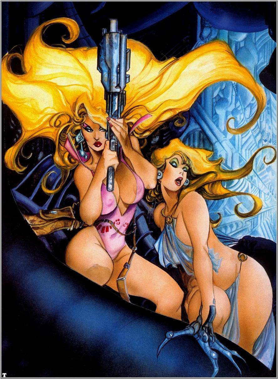 art gallery erotic comics fantasy